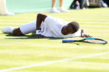 Gael Monfils Day One: The Championships - Wimbledon 2018