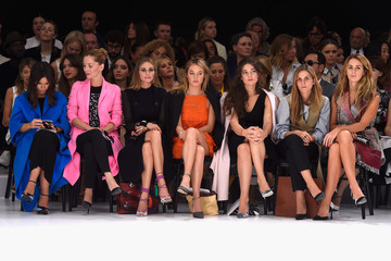 Gaia Repossi Front Row at Christian Dior
