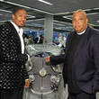 Nick Cannon and Rev Run