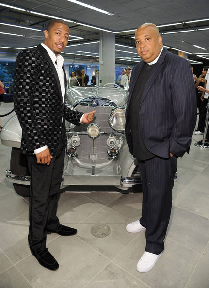Rev run in the gala opening of the new mercedes benz for Mercedes benz of manhattan new york city