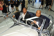 Nick Cannon and Rev Run attend the gala opening of the new Merceses-Benz Manhattan at Mercedes-Benz Manhattan on June 21, 2011 in New York City.