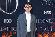 """Isaac Hempstead Wright attends the """"Game Of Thrones"""" Season 8 Premiere on April 03, 2019 in New York City."""