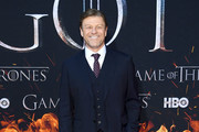 """Sean Bean attends the """"Game Of Thrones"""" Season 8 Premiere on April 03, 2019 in New York City."""