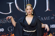"""Dascha Polanco attends the """"Game Of Thrones"""" Season 8 Premiere on April 03, 2019 in New York City."""