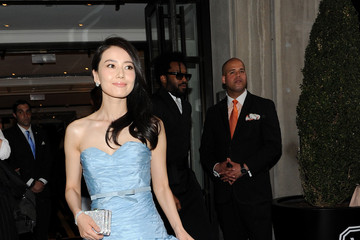 Gao Yuan Yuan Met Gala 2015 Departures From The Mark Hotel - NYC