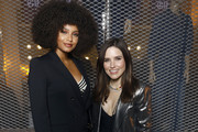 Alicia Aylies and Sophia Bush attend the Gap X Telfar Party during the Menswear Fall/Winter 2020-2021 show as part of Paris Fashion Week on January 16, 2020 in Paris, France.