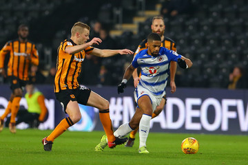 Garath McCleary Hull City v Reading - Sky Bet Championship