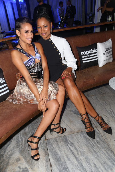 Republic Records Hosts 2015 VMA After Party [vma,leg,fashion,thigh,fun,event,nightclub,party,dania ramirez,garcelle beauvais,ysabel,west hollywood,california,republic records,party,party]