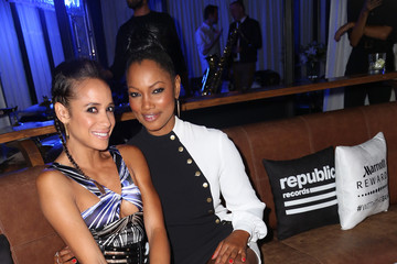 Garcelle Beauvais Dania Ramirez Republic Records Hosts 2015 VMA After Party
