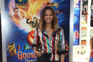 Garcelle Beauvais Columbia Pictures And Sony Pictures Animation's 'Goosebumps 2: Haunted Halloween' Special Screening - Arrivals