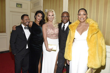 Garcelle Beauvais Tilda Del Toro Byron Allen's Oscar Gala Viewing Party To Support The Children's Hospital Los Angeles - Arrivals