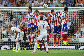 Gareth Bale Real Madrid CF v Club Atletico de Madrid - La Liga