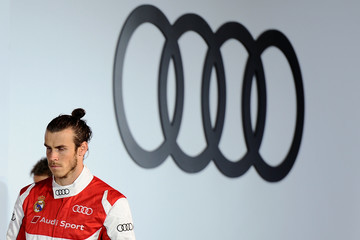 Gareth Bale Real Madrid Players Receive Audi Cars