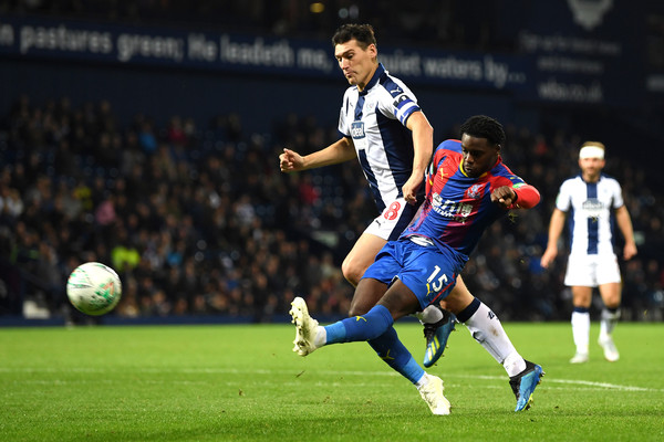 West Bromwich Albion v Crystal Palace - Carabao Cup Third Round