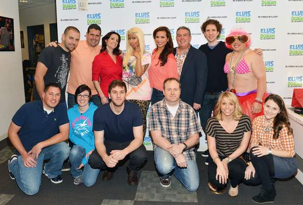 ... Z100 Morning Show Team visit Elvis Duran & The Morning Zoo at Z100