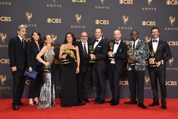 Gary Cole Kevin Dunn 69th Annual Primetime Emmy Awards - Press Room
