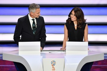 Gary Lineker Final Draw for the 2018 FIFA World Cup Russia