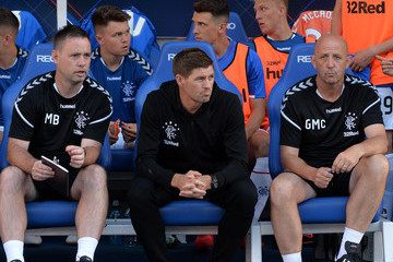 Gary McAllister Rangers vs. Bury - Pre-Season Friendly