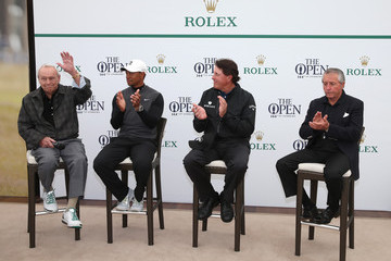 Gary Player Arnold Palmer 144th Open Championship - Previews