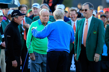 Gary Player Jack Nicklaus The Masters: Round 1