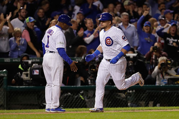 Gary League Championship Series - Los Angeles Dodgers v Chicago Cubs - Game Three