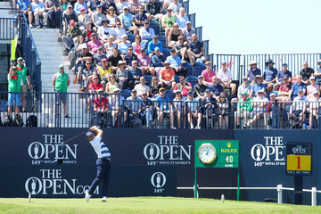 Gary Woodland The 149th Open - Day Two