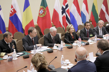 Alexander Vershbow Gates Meets With NATO Foreign Mninisters
