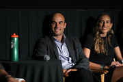 """(L-R) Landon Donovan and Melissa Ortiz speak at the Gatorade premiere of the docu-series, """"Cantera 5v5"""" during the Tribeca TV Festival on Saturday, September 14, 2019 in New York City."""