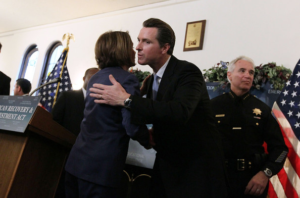 House Speaker Pelosi Holds Recovery Act Roundtable In San Francisco