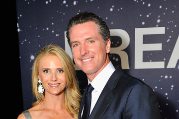 Gavin Newsom Jennifer Siebel Newsom Breakthrough Prize Awards Ceremony