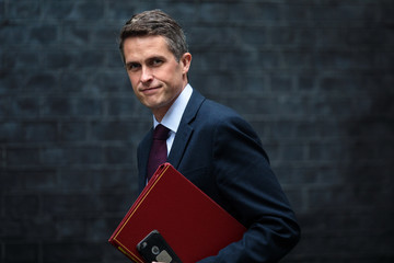 Gavin Williamson Government Ministers Attend Cabinet After Whitsun Break