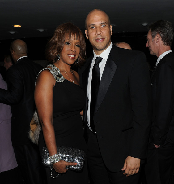 Corey booker dating gayle king