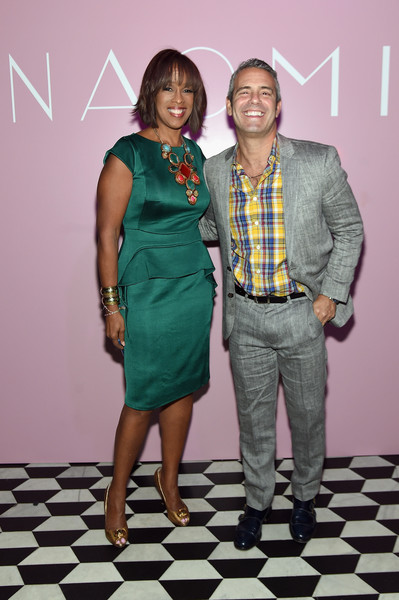 gayle king photos photos marc jacobs benedikt taschen celebrate naomi at the diamond. Black Bedroom Furniture Sets. Home Design Ideas