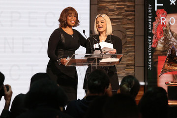 Gayle King GRAMMY Nominations Press Conference