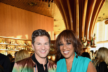 Gayle King David Burtka Celebrates The Launch Of The Life Is A Party Cookbook In New York City With The Capital One Savor® Credit Card