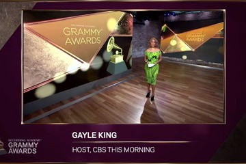 Gayle King 63rd Annual GRAMMY Awards Nominees Announcement