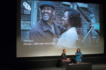 Gaylene Gould Preview Screening of 'Fences' and Q&A at the BFI Southbank
