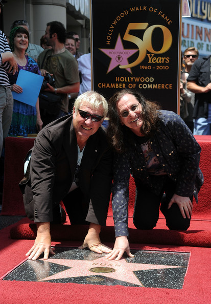 Rush Honored On The Hollywood Walk Of Fame