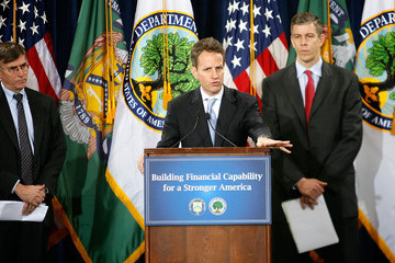 Richard Ketchum Geithner And Duncan Announce Partnership To Promote Financial Education