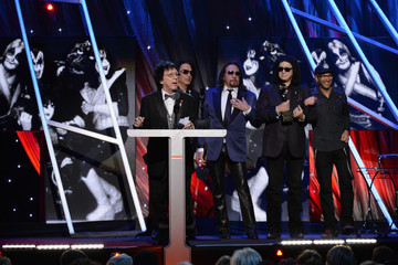 Gene Simmons Rock and Roll Hall of Fame Induction Show