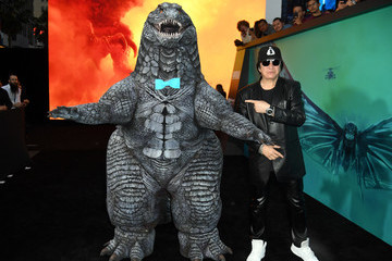 Gene Simmons Premiere Of Warner Bros. Pictures And Legendary Pictures' 'Godzilla: King Of The Monsters' - Red Carpet