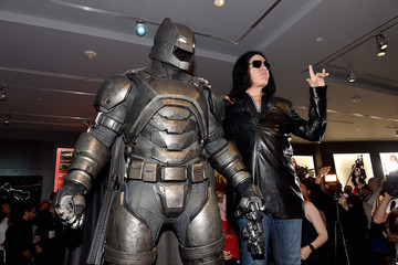 Gene Simmons Warner Bros. Studio Tour Hollywood Launches DC Universe: The Exhibit