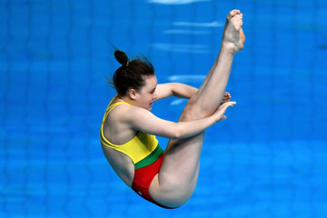 Genevieve Green Angerame Budapest 2017 FINA World Championship - Day 4