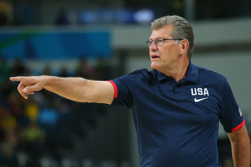 Geno Auriemma Basketball - Olympics: Day 11