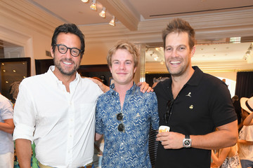 Geoff Stults Brooks Brothers Beverly Hills Hosts Summer Camp-Themed Party to Benefit St. Jude Children's Research Hospital
