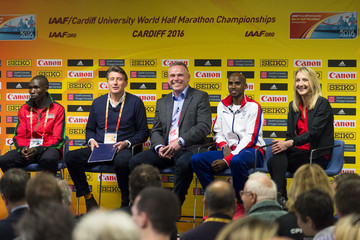 Geoffrey Kamworor IAAF/Cardiff University World Half Marathon Championships - Previews