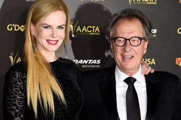 Geoffrey Rush 2015 G'Day USA Gala Featuring The AACTA International Awards Presented By QANTAS - Arrivals