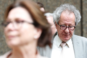Geoffrey Rush Geoffrey Rush Attends Court As Defamation Trial Against Daily Telegraph Continues