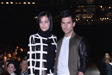 Geordon Nicol Dsquared2 - Front Row - Milan Fashion Week Womenswear Autumn/Winter 2014