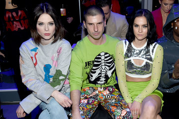 Geordon Nicol Jeremy Scott - Front Row - February 2018 - New York Fashion Week: The Shows